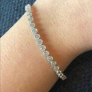 Jewelry - Ladies cubic zirconia tennis bracelet